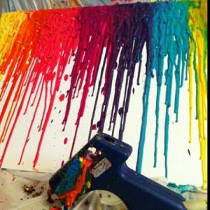 Guide on How to Create a Colorful Rainbow DIY Crane Curtain [Video+Detailed Instructions] [ Read More at https://homesthetics.net/guide-on-how-to-create-a-colorful-rainbow-diy-crane-curtain-videodetailed-instructions/ © Homesthetics - Inspiring ideas for your home.]