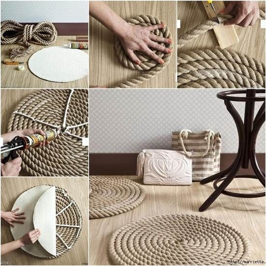 25 Easy Diy Home Decor Ideas: Get Creative With These 25 Easy DIY Rope Projects For Your