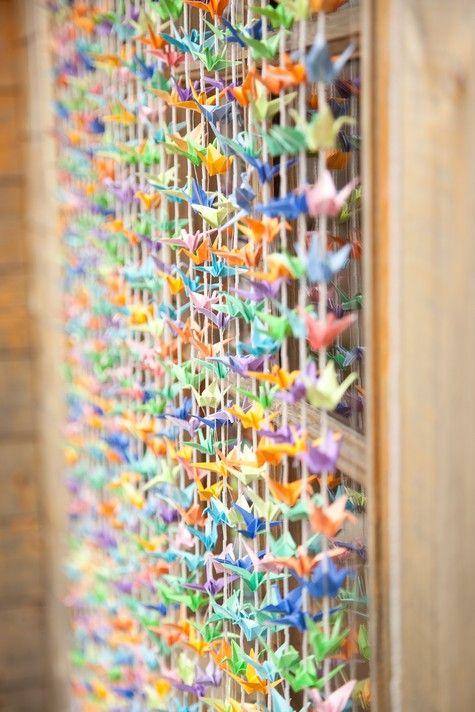 Guide on How to Create a Colorful Rainbow DIY Crane Curtain [Detailed Instructions] homesthetics (1)