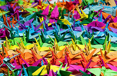 Guide on How to Create a Colorful Rainbow DIY Crane Curtain [Detailed Instructions] homesthetics (4)