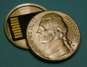 Hidden Storage Ideas One Coin in Your Collection Can Contain Valuable Information in Electric Format