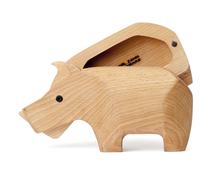 Hidden Storage Ideas Minimalist Animal Sculpture Sheltering Valuable Items