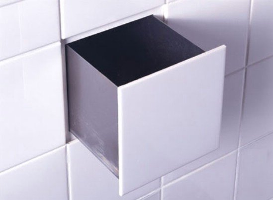 Hidden Storage Ideas Hidden Secret Compartment Behind a Bathroom or Kitchen Tile