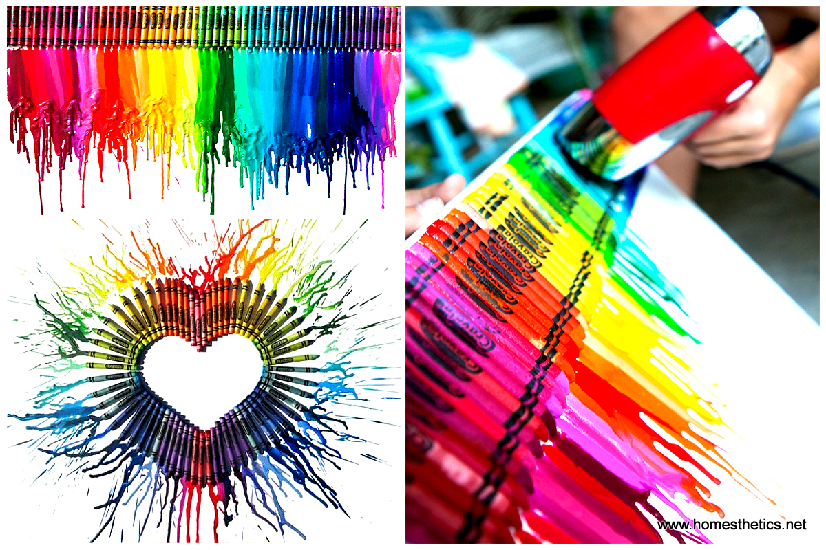 Design Diy Art Projects smart diy melted crayon art project adding color to any decor video included