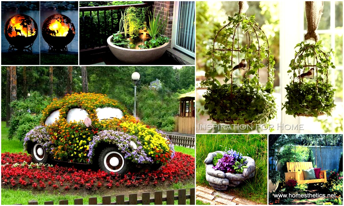 25 easy diy garden projects you can start now for Backyard decoration