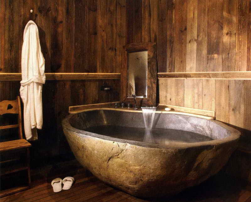 40 exceptional rustic bathroom designs filled with. Black Bedroom Furniture Sets. Home Design Ideas