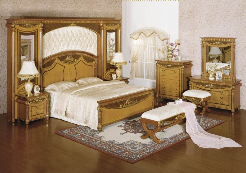 Cute bedroom ideas classical decorations versus modern design for Bed dizain image