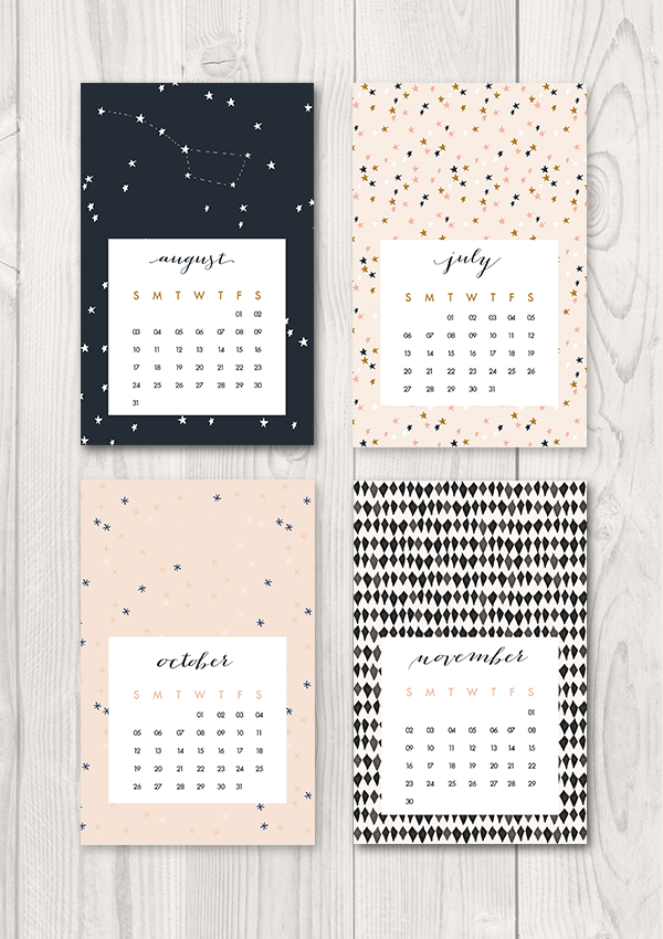 Create This Smart and Beautiful DIY Heart Calendar in 5 Simple Steps