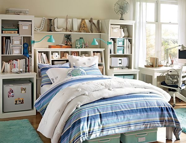 Girl Bedroom Ideas With Highly Efficient Storage Ideas