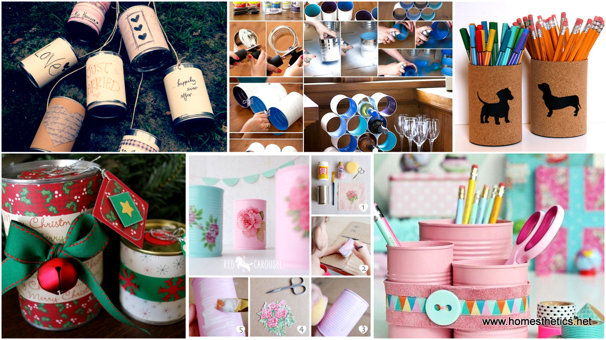 20 Creative Repurposed Diy Tin Cans Projects That You Must Try
