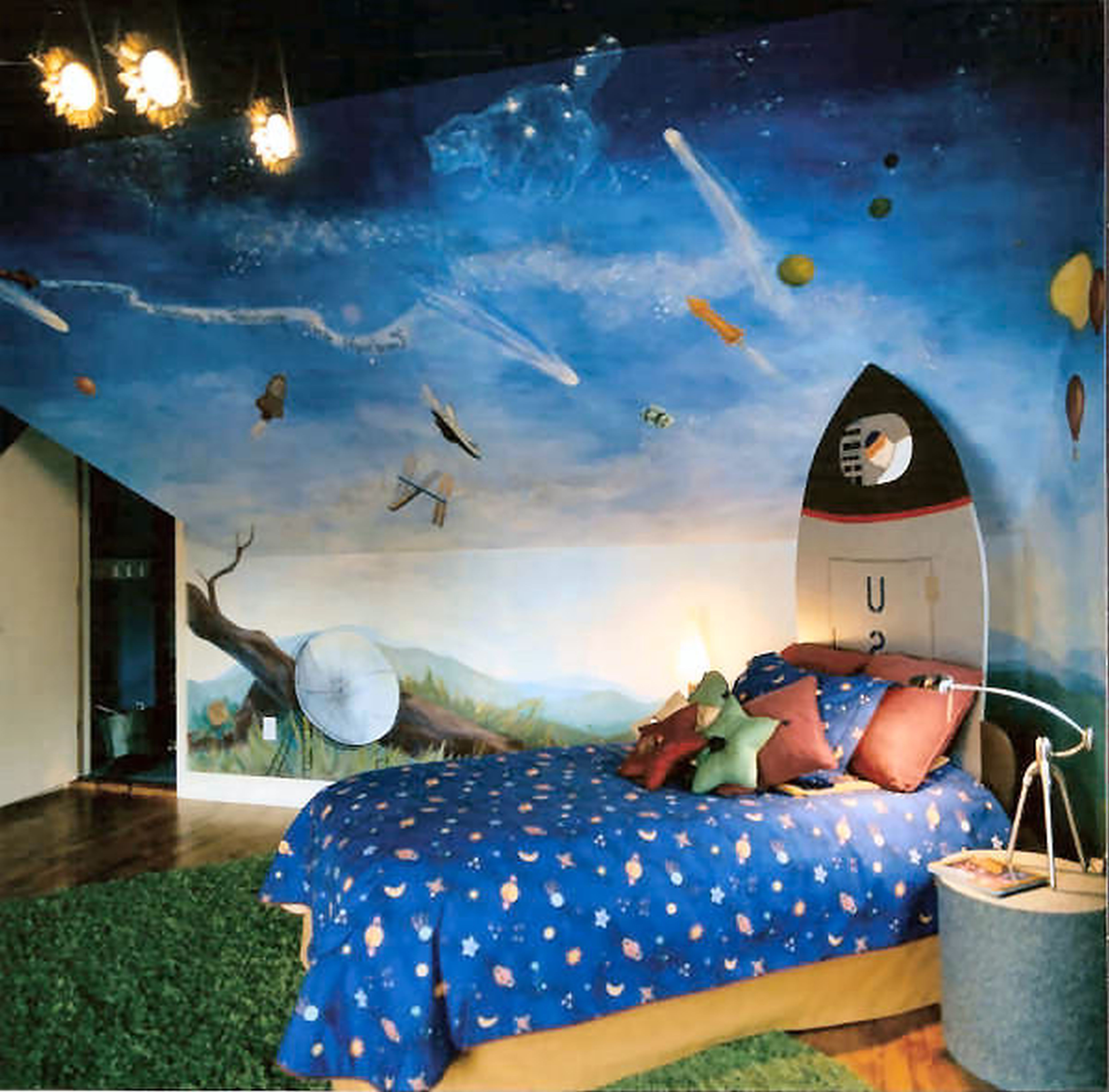 Cute bedroom ideas classical decorations versus modern design for Themes for kids rooms