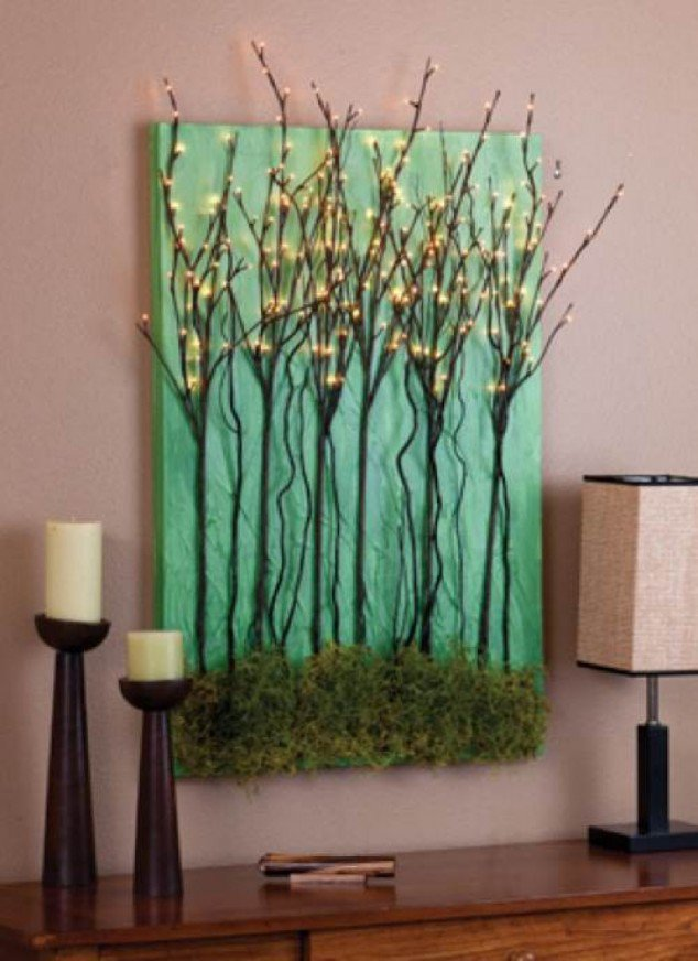 18 creative craft ideas  how to use tree branches