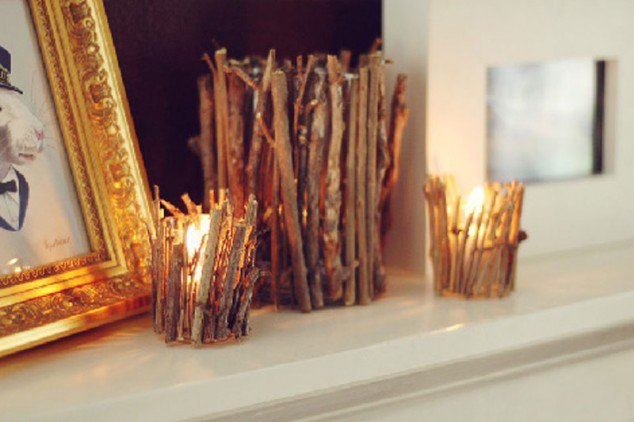 23 Creative Craft Ideas- How To Use Tree Branches-HOMESTHETICS (4)