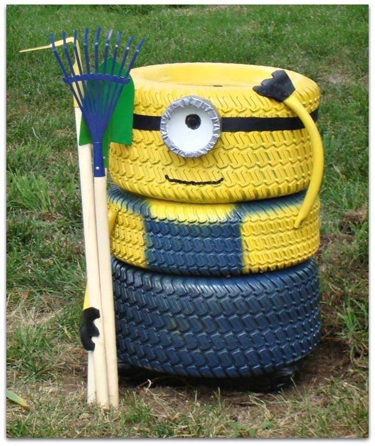 24 DIY Tire Projects- Creatively Upcycle and Recycle Old Tires Into a New Life (2)