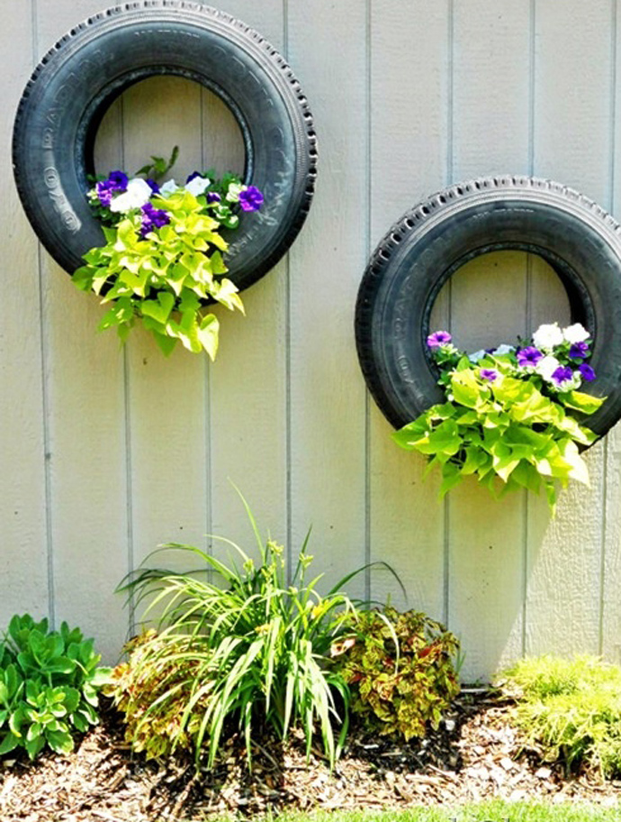 24 diy tire projects creatively upcycle and recycle old tires into a new life - Garden Ideas Using Tyres