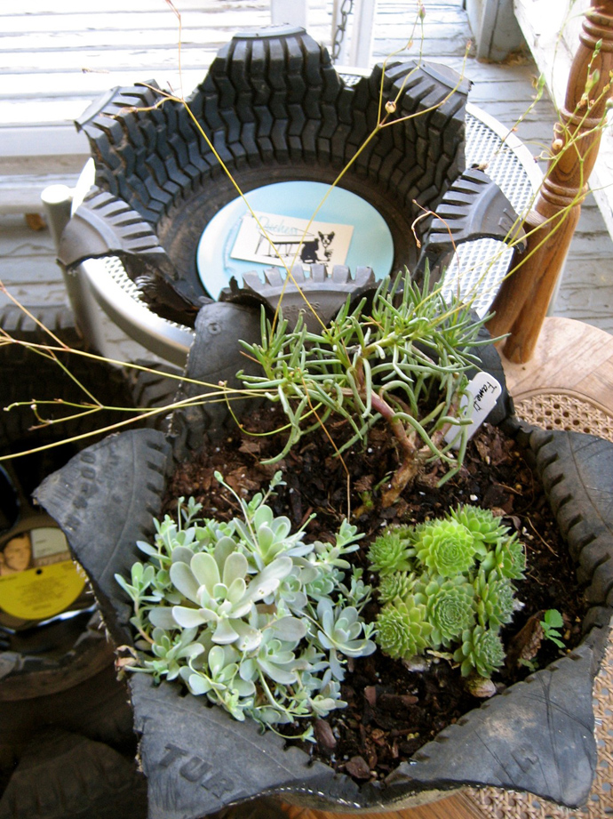 24 DIY Tire Projects- Creatively Upcycle and Recycle Old Tires Into a New Life (30)