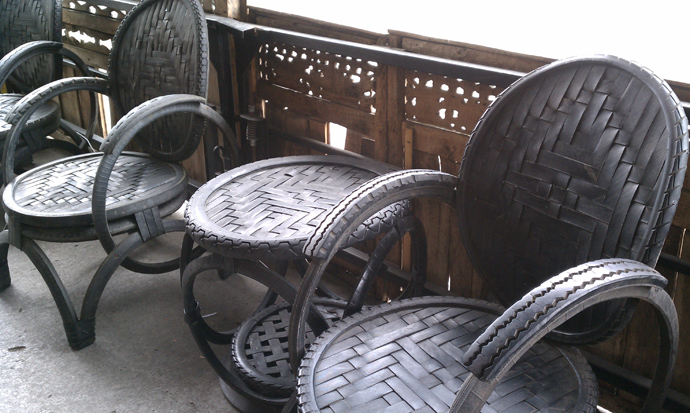 24 DIY Tire Projects- Creatively Upcycle and Recycle Old Tires Into a New Life (31)