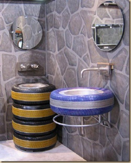 24 DIY Tire Projects- Creatively Upcycle and Recycle Old Tires Into a New Life (4)