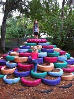 24 DIY Tire Projects- Creatively Upcycle and Recycle Old Tires Into a New Life (46)