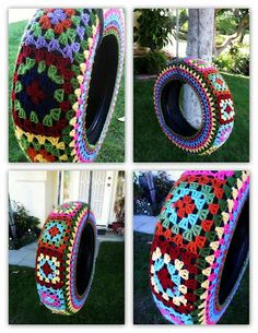 24 DIY Tire Projects- Creatively Upcycle and Recycle Old Tires Into a New Life (5)