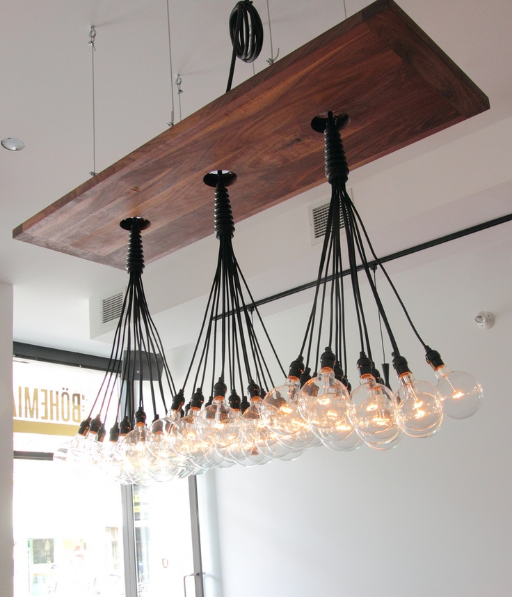 25 Beautiful DIY Wood Lamps And Chandeliers That Will Light Up ...