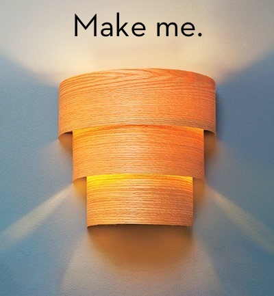 25 beautiful diy wood lamps and chandeliers that will light up your home origami organic wall lamp aloadofball Images