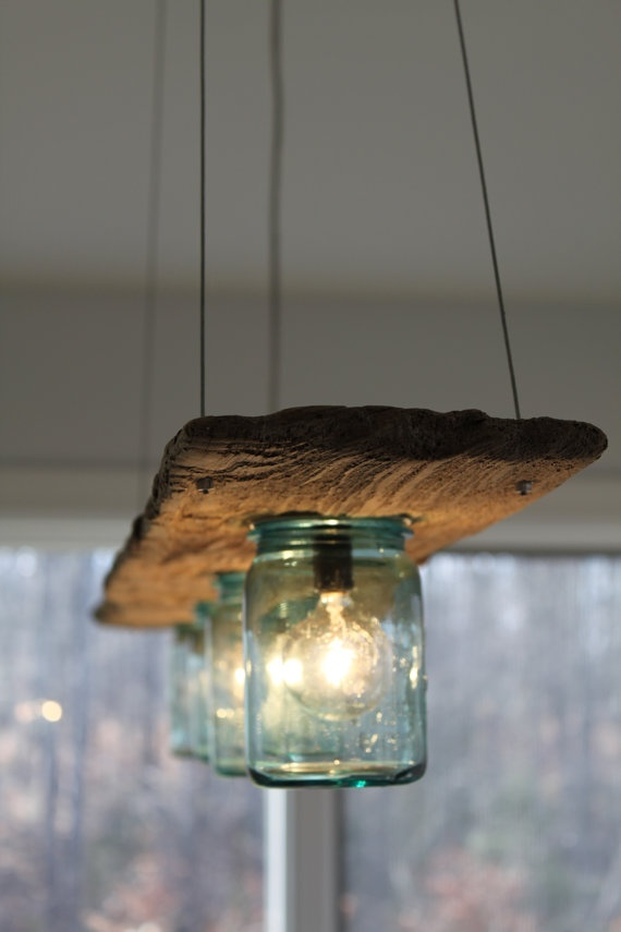 25 Beautiful DIY Wood Lamps And Chandeliers That Will
