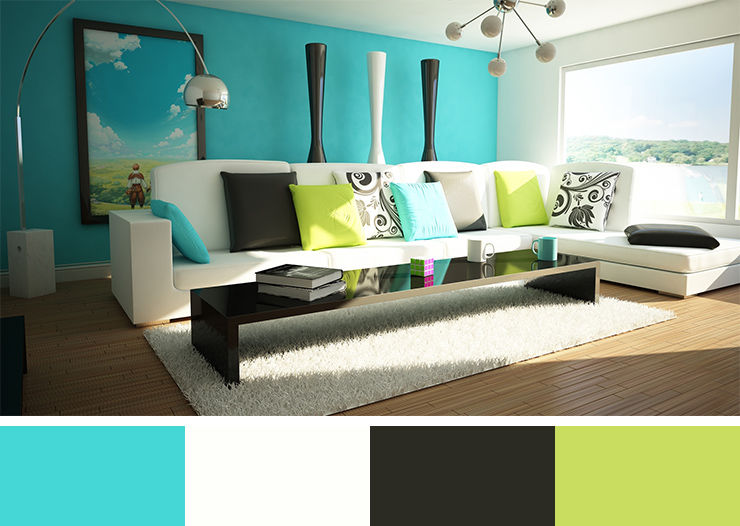 30 Beautiful Interior Design Color Scheme Ideas To Inspire You And The Significance Of Color In Design (1)