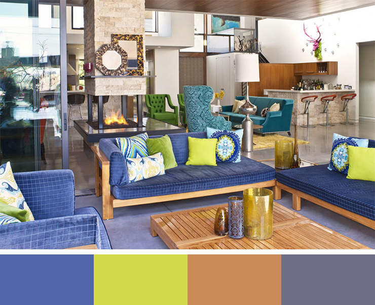 30 Beautiful Interior Design Color Scheme Ideas To Inspire You And The Significance Of Color In Design (14)