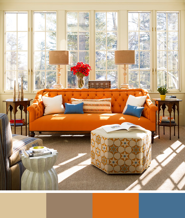 30 Beautiful Interior Design Color Scheme Ideas To Inspire You And The Significance Of Color In Design (22)