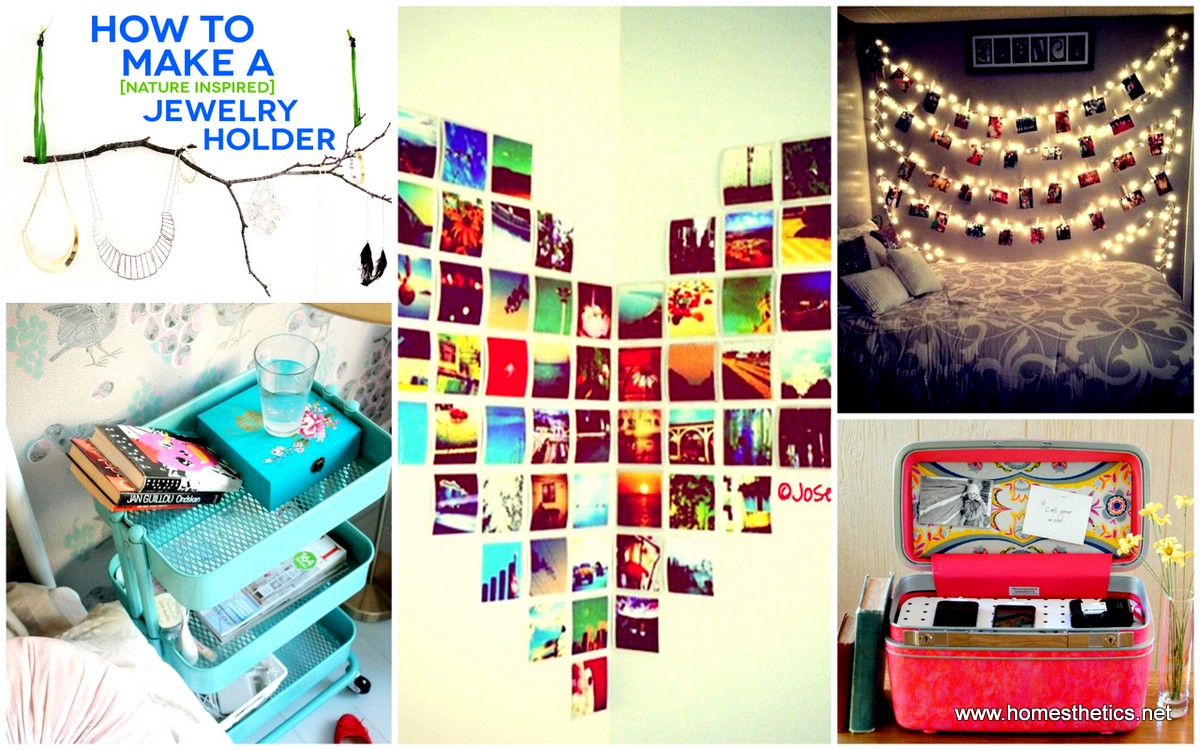 30 smart money saving decor ideas meant to beautify dorm rooms for Art decoration ideas