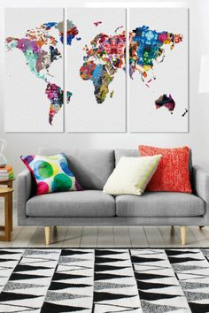 45 beautiful diy wall art ideas for your home 45 beautiful diy wall art ideas for your home homesthetics 7 gumiabroncs Choice Image