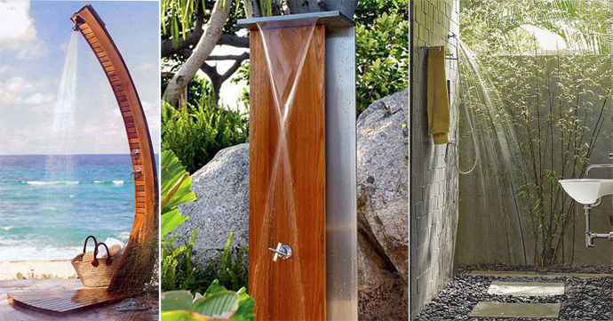 63 Outdoor Showers & Outdoor Bathtubs Exuding Supreme Tranquility and Serendipity homesthetics (27)