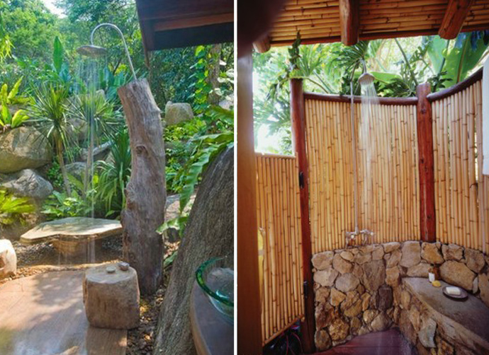 63 Outdoor Showers & Outdoor Bathtubs Exuding Supreme Tranquility and Serendipity homesthetics (28)