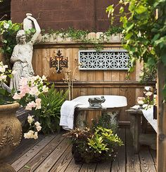 63 Outdoor Showers & Outdoor Bathtubs Exuding Supreme Tranquility and Serendipity homesthetics (55)