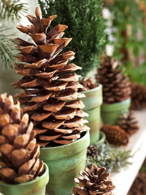 65+ Simply Magical DIY Pinecones Crafts That Will Beautify Your Christmas Decor Homesthetics (29)