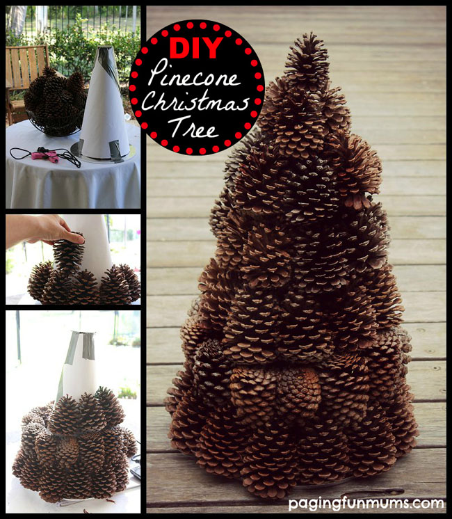 Extraordinary Pinecone Tree Built With Ease