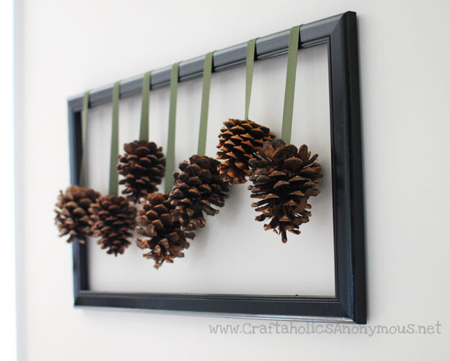 65+ Simply Magical DIY Pinecones Crafts That Will Beautify Your Christmas Decor Homesthetics (47)