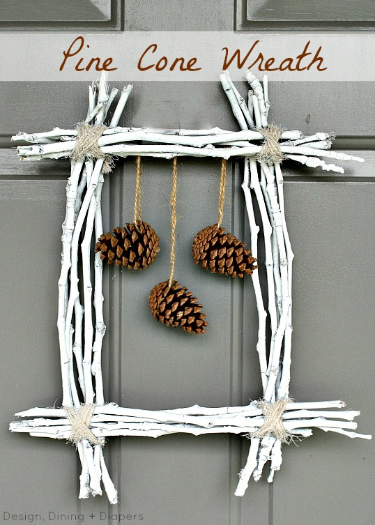 65+ Simply Magical DIY Pinecones Crafts That Will Beautify Your Christmas Decor Homesthetics (66)