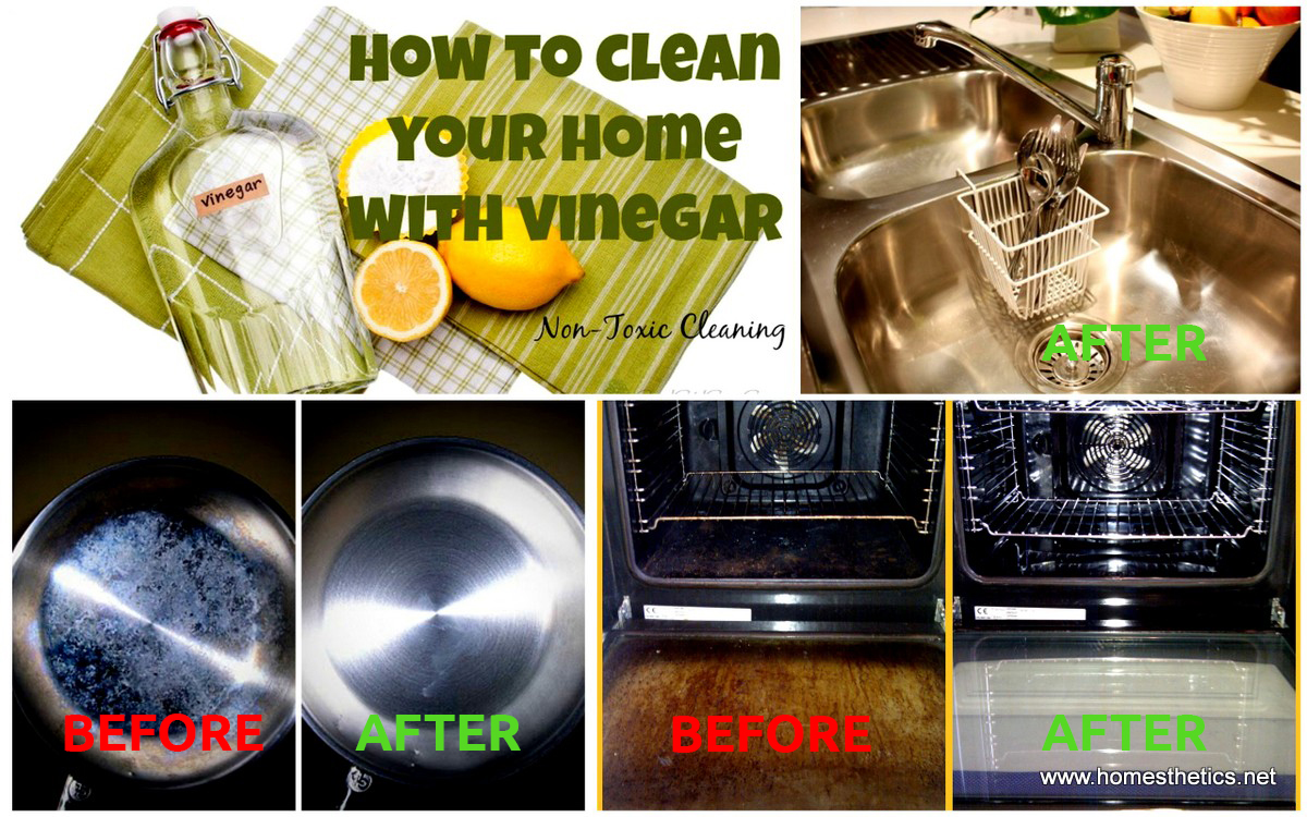 7 Super Smart Homemade DIY Cleaning Recipes Using Vinegar That You Have to Try