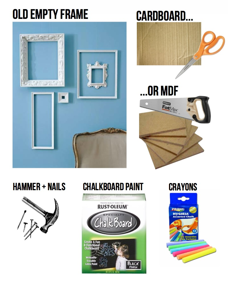 38 beautiful creative ways chalkboard paint can improve your home chalk painted cardboard farmes solutioingenieria Images