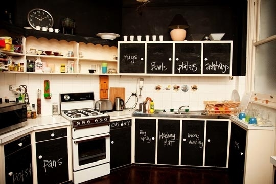 Beautiful Creative Ways Chalkboard Paint Can Improve Your Home