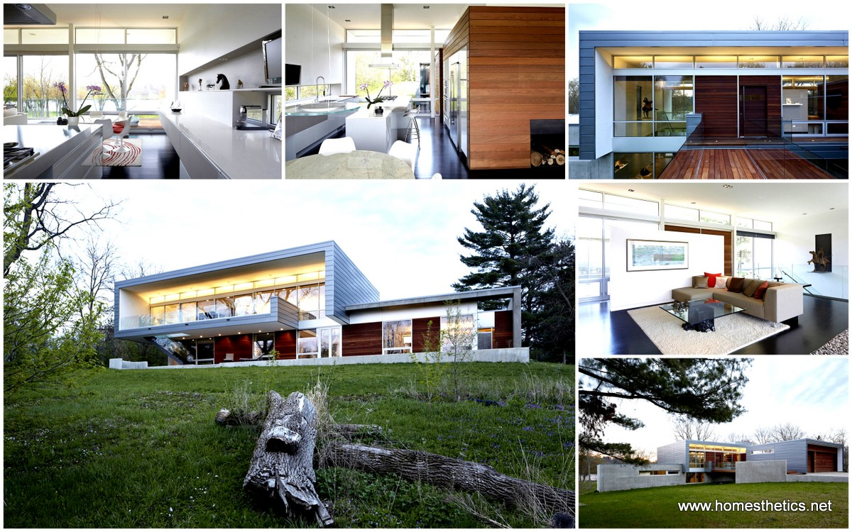 Bright Riverview Home Punctuated by Natural Panoramas