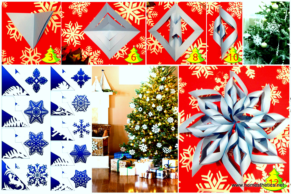 christmas diy paper snowflake projects 2d3d to beautify your ambiance detailed guidetemplates