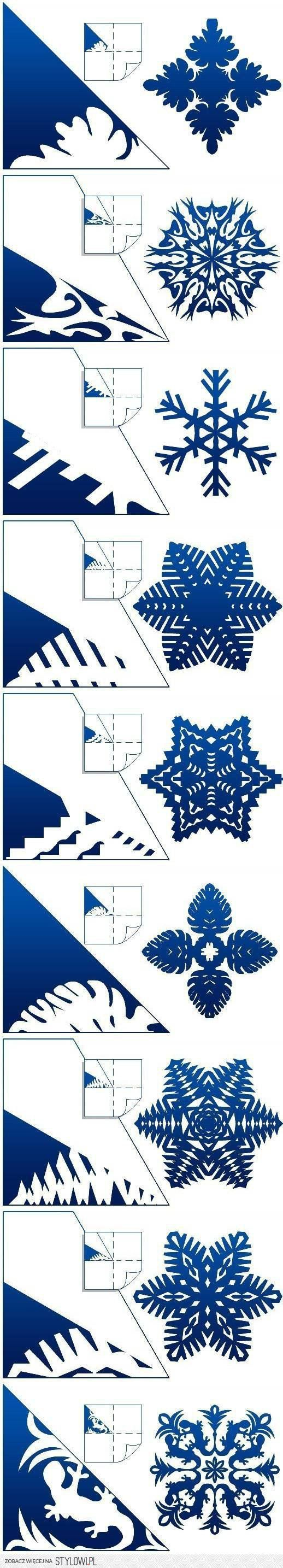 Christmas DIY Paper Snowflake Projects 2D&3D to Beautify Your Ambiance [Detailed Guide+Templates] homesthetics (3)