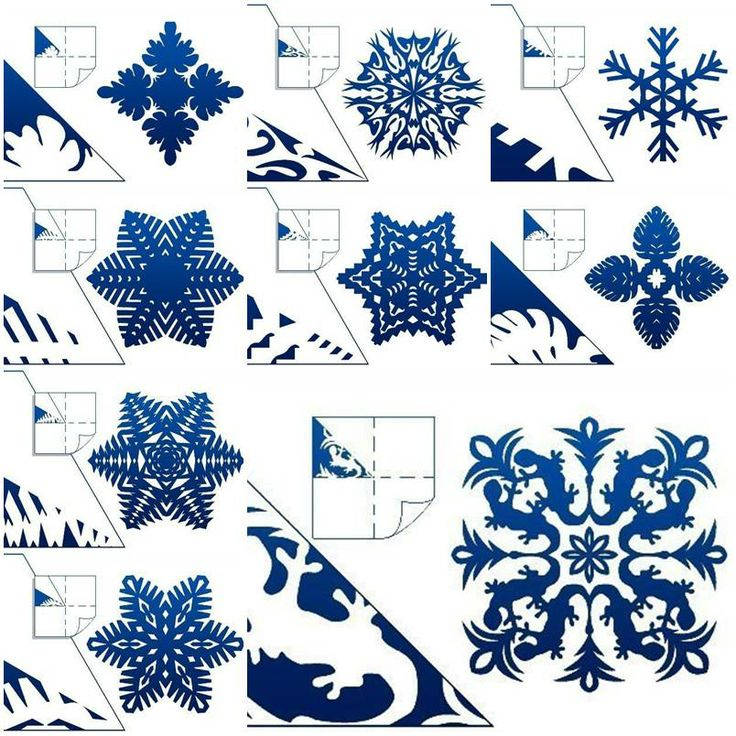 Christmas DIY Paper Snowflake Projects 2D&3D to Beautify Your Ambiance [Detailed Guide+Templates] homesthetics (5)
