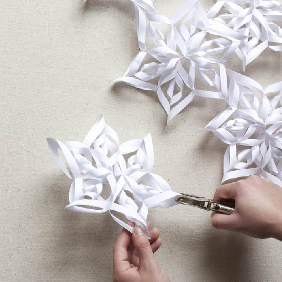 Christmas Diy Paper Snowflake Projects 2d Amp 3d To Beautify