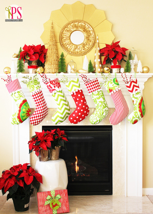 Create Jolly and Magical DIY Christmas Stockings That Will Enchant Your Christmas homesthetics (2)