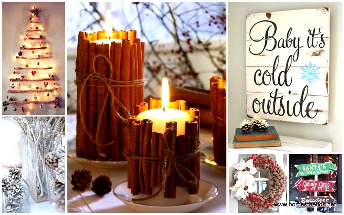 get ahead and prepare for christmas with these 30 magic diy christmas decorations