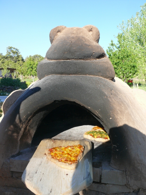 DIY Cob Oven Project-Outdoor Pizza Oven- Build Your Own For $20   homesthetics (39)
